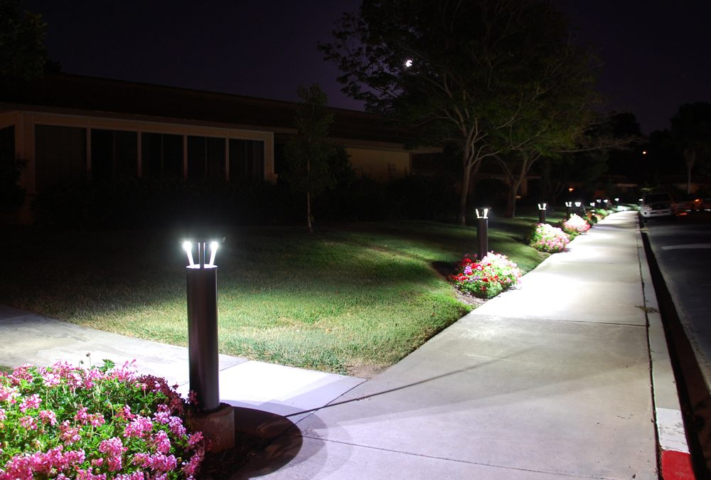 Retirement Community Adds Ultra Efficient Bollards to Pathway