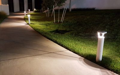 First Light Bollards Increase Campus Safety
