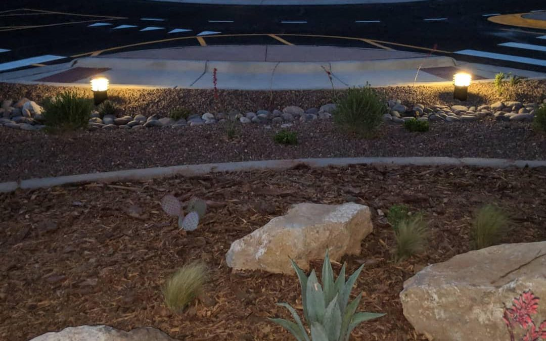 Solar Bollards Increase Safety in El Paso Intersection