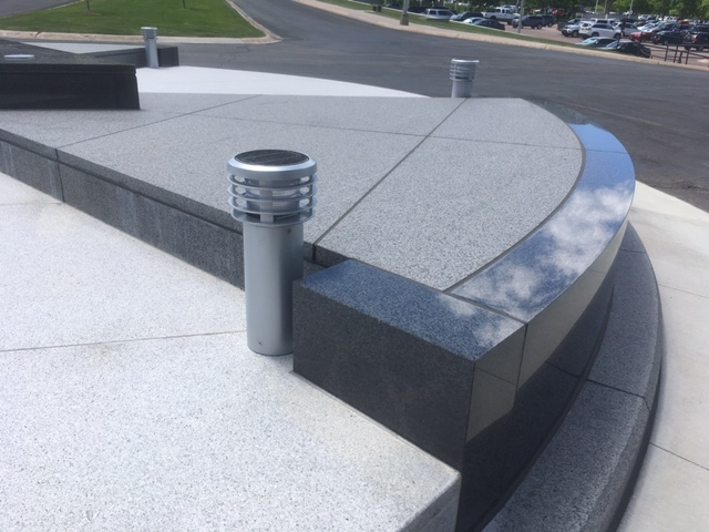 Lighting Solution for U.S. Air Force Academy Monument Lit With Solar
