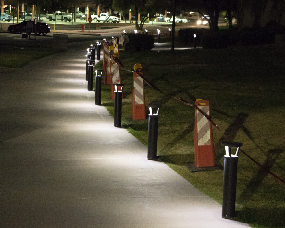 Pathway Lighting at night - First Light Technologies