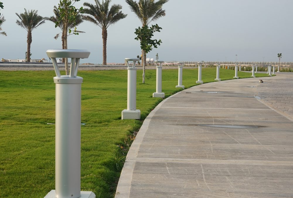 Solar Bollards Provide Ideal Roadway Delineation