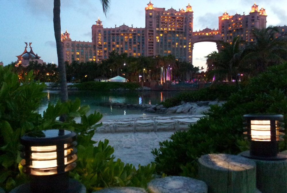 Solar Bollards Lighting Light Up Paradise Island