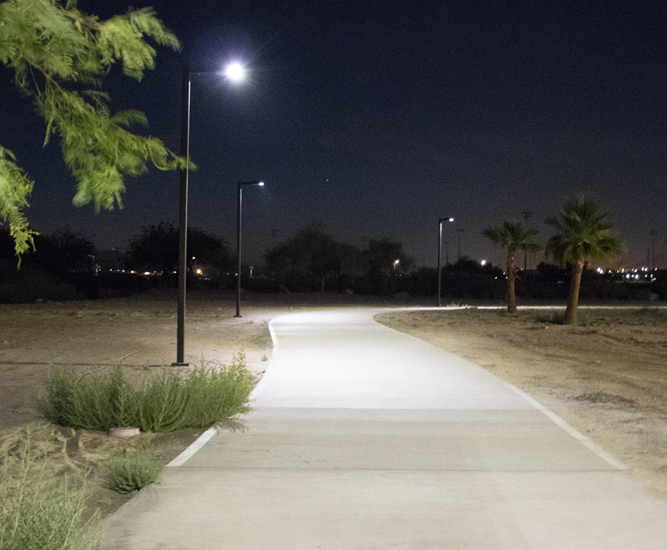 SCL2 solar pathway lighting