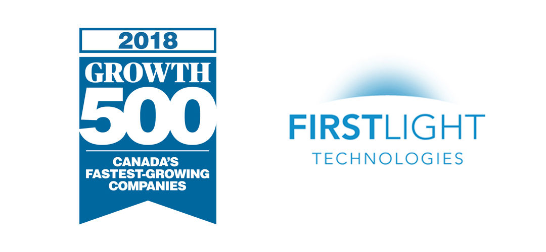 First Light Ranked One of Canada's Fastest Growing Companies