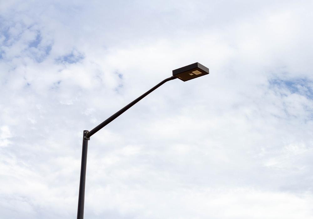 All-in-one solar streetlight