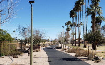 Shared Use Pathways Illuminated by Solar