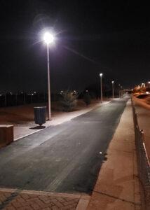Shared Use Path - Mesa Night