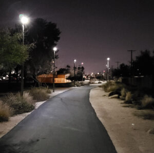 Shared Use Path - Mesa Night 2