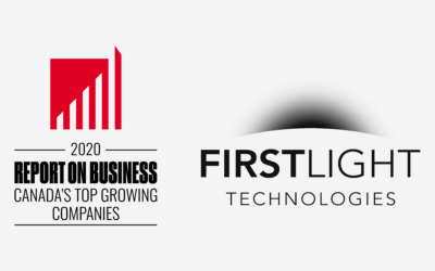 First Light Technologies included for the second year in a row on The Globe and Mail's second-annual ranking of Canada's Top Growing Companies