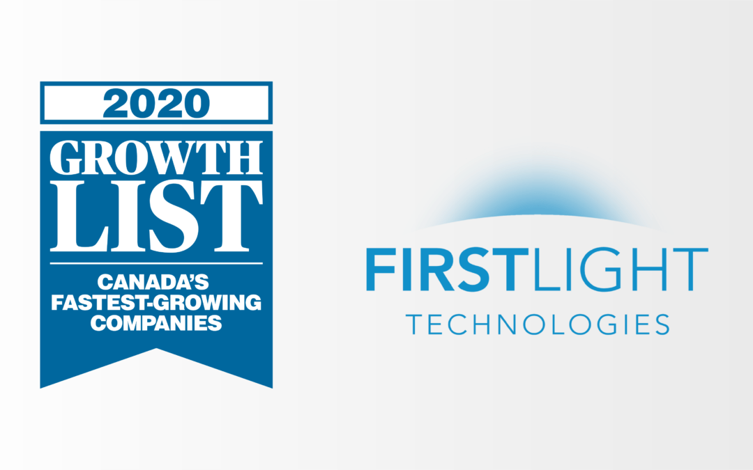 For the Fifth Straight Year, First Light Technologies Ranks on the GROWTH2020 List