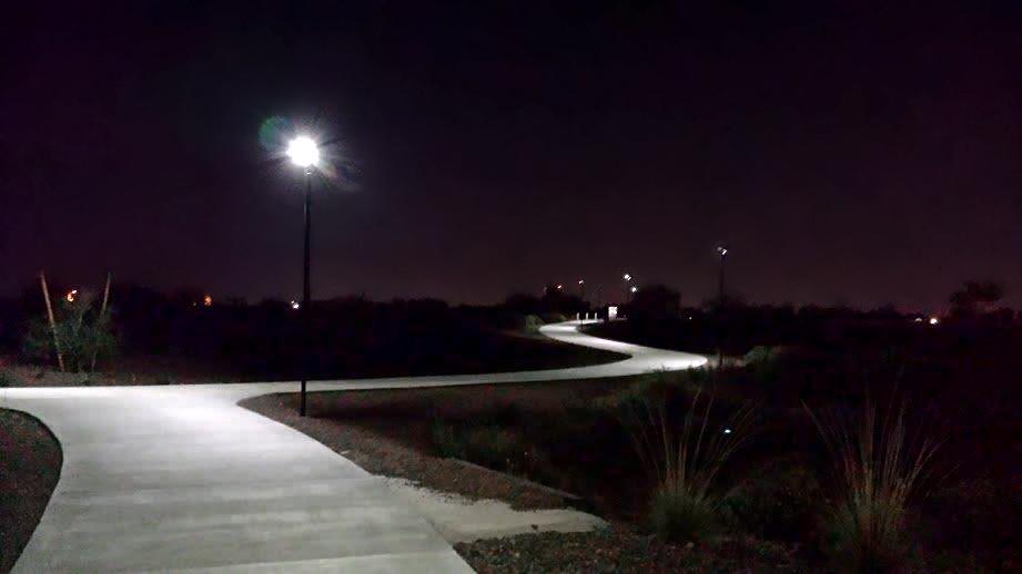 light distribution - solar pathway lighting