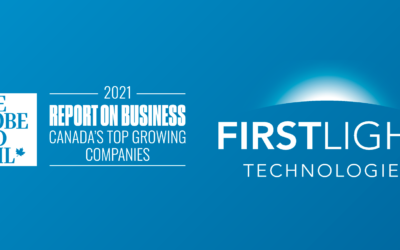 First Light Technologies Ranks on the Report on Business Ranking of Canada's Top Growing Companies for the Third Straight Year.